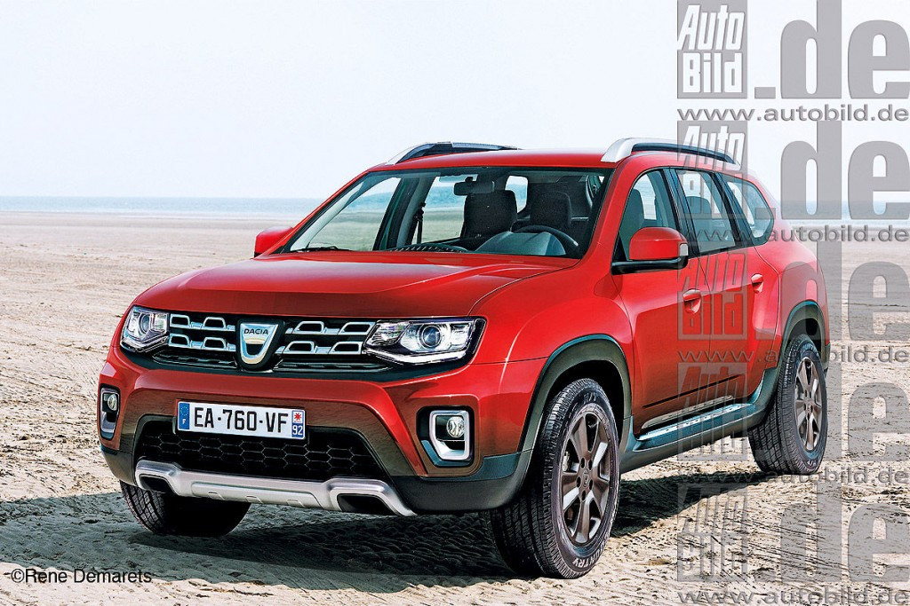 2017 Dacia Duster Renault Duster To Grow By 150 Mm Report